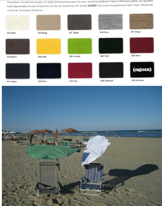 02. REISE-SET - holly sunshade Beach and Shore  Stuhl sand-F�cher natur